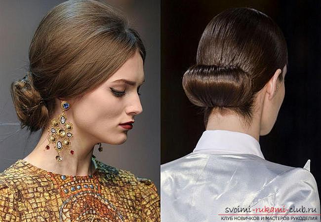 Причёски гладкие на длинные волосы