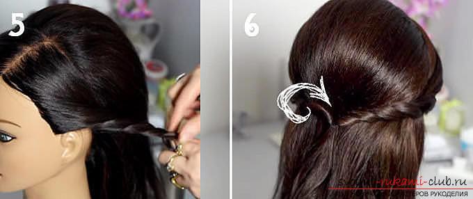 Простые ии красивые прически на средние волосы своими руками с описанием и фото