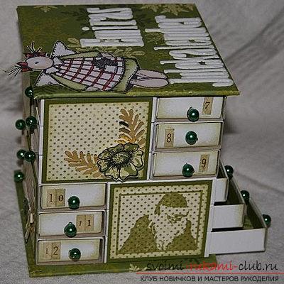 Красивые поделки из коробок