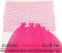 шьём пышное красивое платье для девочки своими руками. Фото №6
