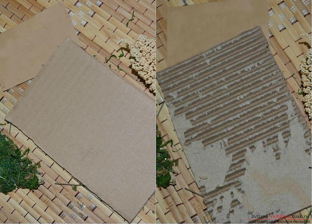 Мастер-класс по изготовлению картины из природных материалов в домашних условиях.. Фото №7