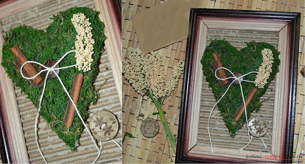 Мастер-класс по изготовлению картины из природных материалов в домашних условиях.. Фото №11