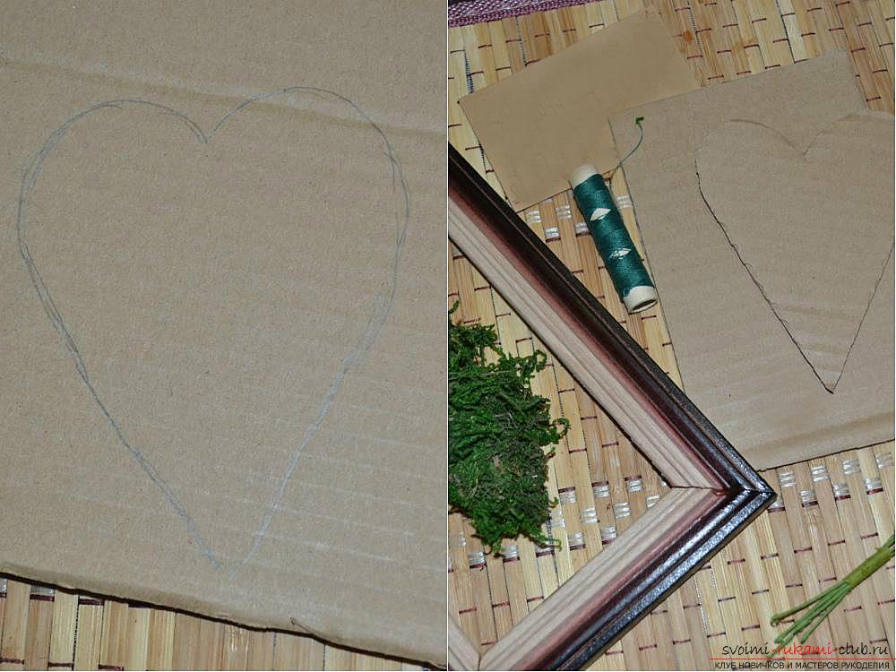 Мастер-класс по изготовлению картины из природных материалов в домашних условиях.. Фото №3