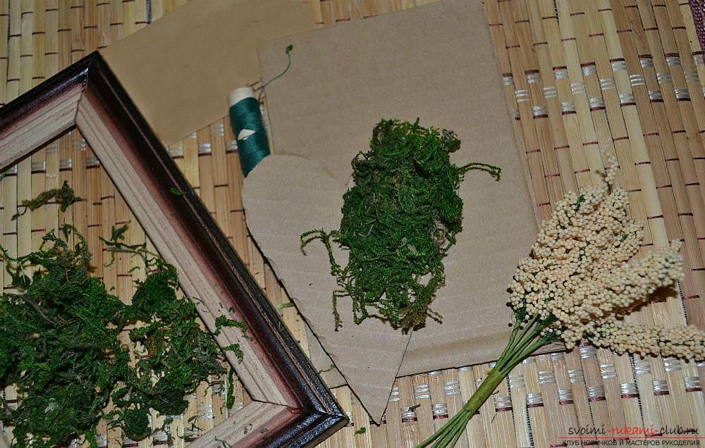 Мастер-класс по изготовлению картины из природных материалов в домашних условиях.. Фото №4
