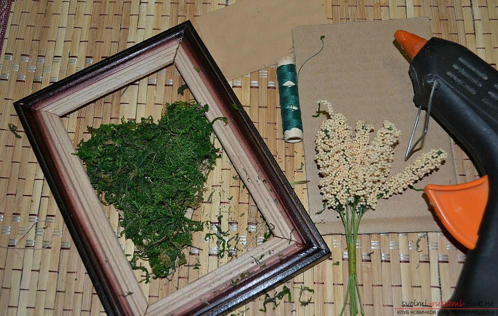 Мастер-класс по изготовлению картины из природных материалов в домашних условиях.. Фото №5