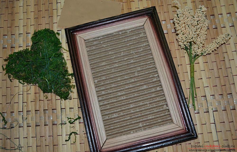 Мастер-класс по изготовлению картины из природных материалов в домашних условиях.. Фото №9