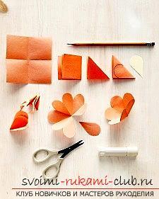Создание открыток своими руками, открытка на день матери, розочки из бумаги своими руками, советы, рекомендации и инструкции по из созданию.. Фото №2