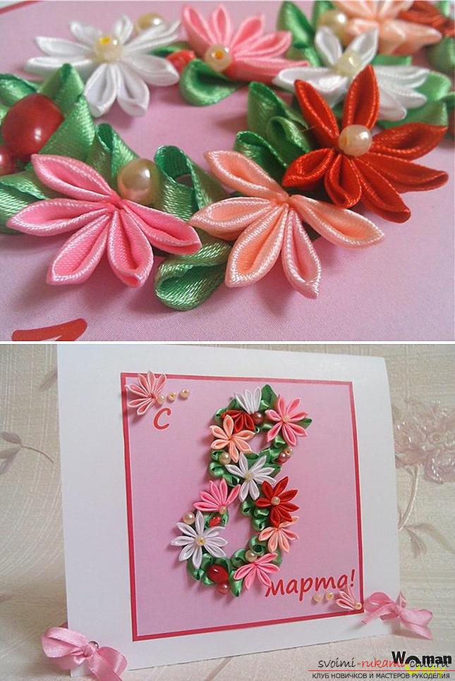 Как сделать оригинальные поделки к весеннему празднику женщин - 8 Марта, пошаговые фото создания рамки для фото, топиария, поделки в стиле свит дизайн и букета из огромных роз из гофрированной бумаги. Фото №18