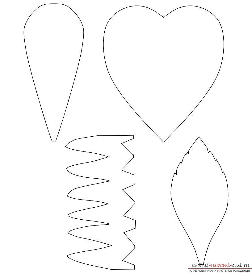 Как сделать оригинальные поделки к весеннему празднику женщин - 8 Марта, пошаговые фото создания рамки для фото, топиария, поделки в стиле свит дизайн и букета из огромных роз из гофрированной бумаги. Фото №10