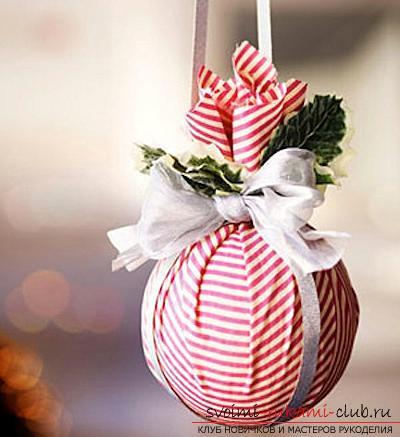 Оформление новогодней игрушки: ТОП-8. Фото №15