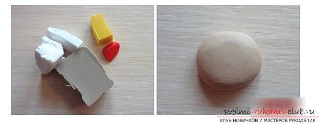 Как делать украшения для ёлочки из полимерной глины? мастер-класс лепки