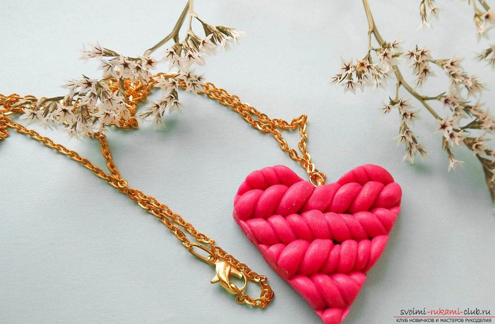 Как сделать объемную валентинку-печенье? Мастер-класс лепки из полимерной глины