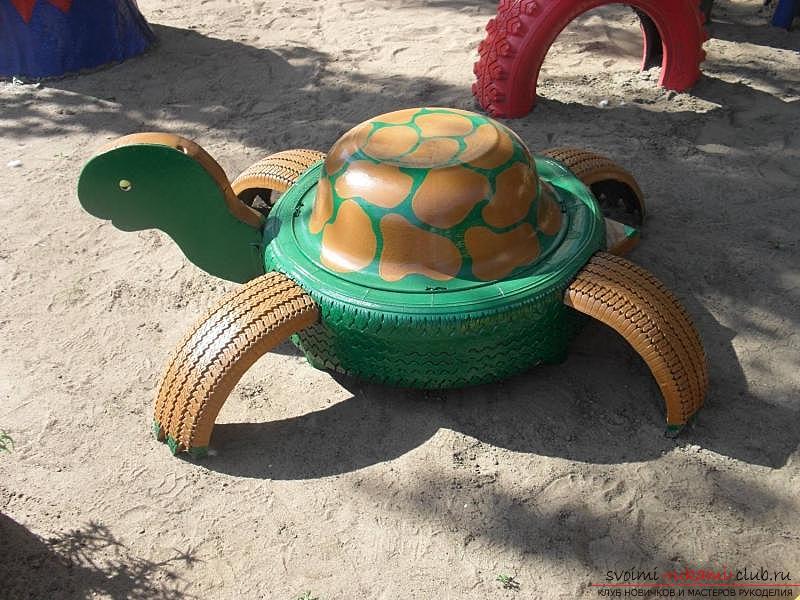 Черепаха своими руками для дачи