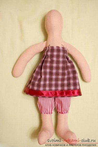 Кукла Тильда своими руками, популярный заяц Тильда, новогодний заяц Тильда, как правильно выбрать ткань для пошива зайца Тильда, выкройки зайца, выкройки одежды для зайца Тильда.. Фото №25