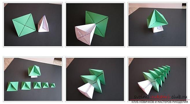 Как сделать декоративное деревце из бумаги, несколько мастер классов по созданию деревьев в технике квилинг, топиариев из бумаги и оригами. Фото №37