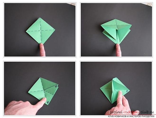 Как сделать декоративное деревце из бумаги, несколько мастер классов по созданию деревьев в технике квилинг, топиариев из бумаги и оригами. Фото №29