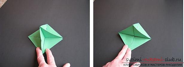 Как сделать декоративное деревце из бумаги, несколько мастер классов по созданию деревьев в технике квилинг, топиариев из бумаги и оригами. Фото №30