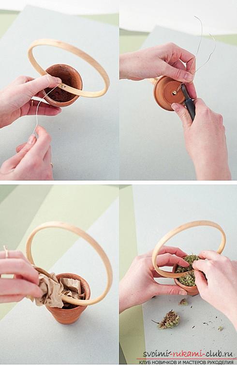 Как сделать декоративное деревце из бумаги, несколько мастер классов по созданию деревьев в технике квилинг, топиариев из бумаги и оригами. Фото №15