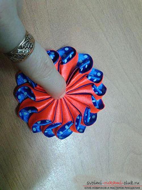 Оригинальный цветок зефирка своими руками. Фото №12