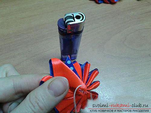 Оригинальный цветок зефирка своими руками. Фото №3