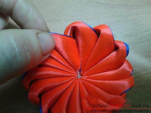 Оригинальный цветок зефирка своими руками. Фото №11
