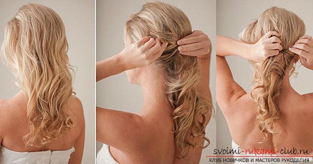 Причёска на праздник своими руками короткие волосы