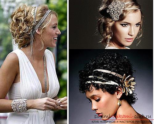 Повязка на волосы в греческом стиле