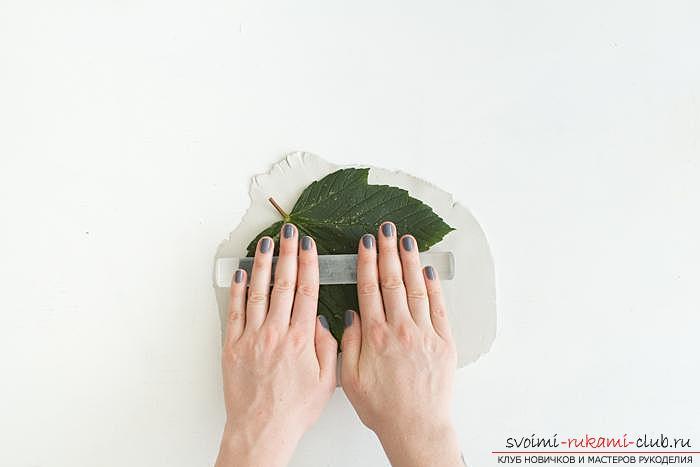 Оригинальные предметы интерьера своими руками, изготовление вазочек из глины своими руками.. Фото №3