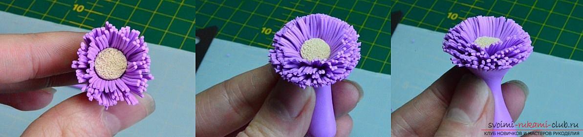 Как сделать брошь из полимерной глины, уроки керамической флористики, пошаговые фото создания броши