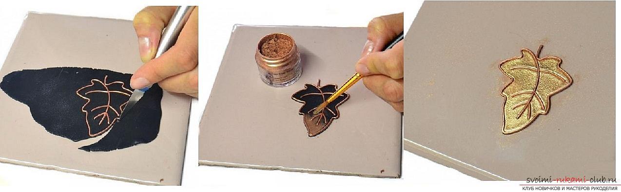 Как сделать брошь из полимерной глины в виде дубового листка, пошаговые фото и описание работы