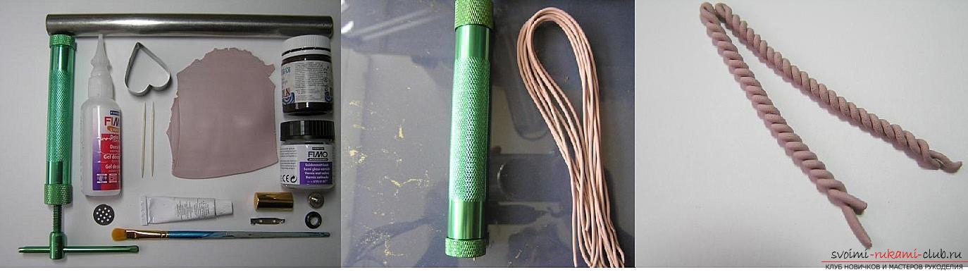 Как сделать брошь из полимерной глины в технике имитации вязания, пошаговые фото создания броши в виде сердечка с пуговкой