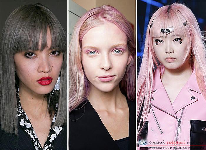 Цвета волос 2017 года модные тенденции весна лето