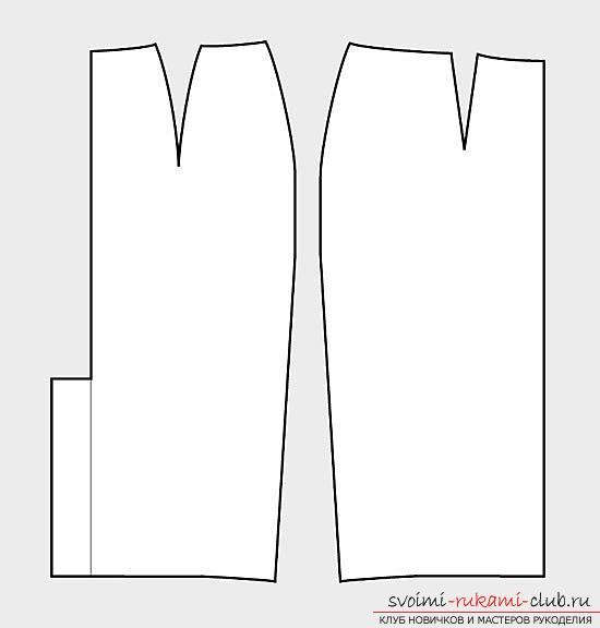 Как создать выкройку юбки-карандаш и пошить по ней изделие, используя описание и фото