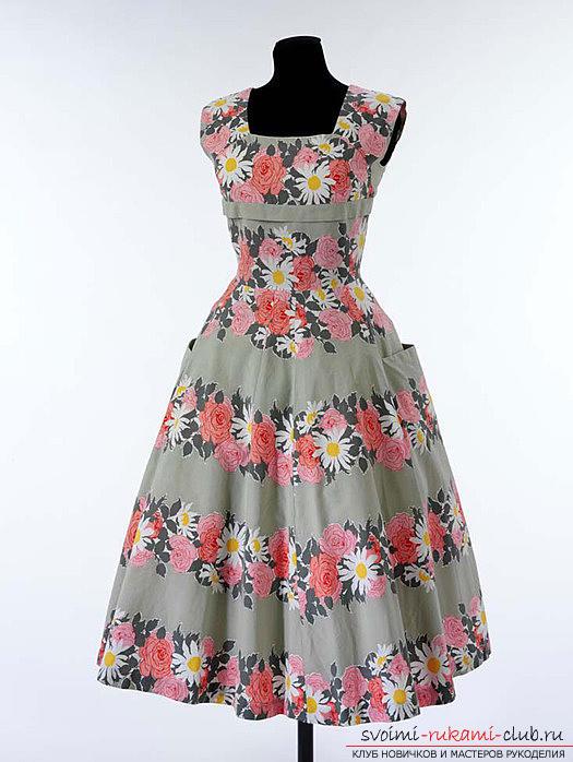Как сшить самой модное платье полусолнце