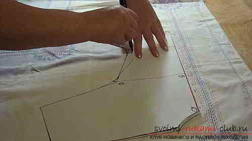 Поэтапное описание построения выкройки комбинезона для йорка. Фото №5