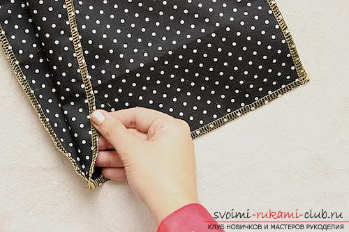 Изготовление подарочного конверта из ткани своими руками