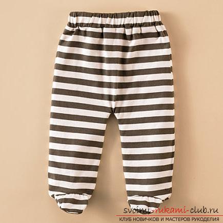Шьем просто и быстро штанишки для малышей. - Ярмарка Мастеров