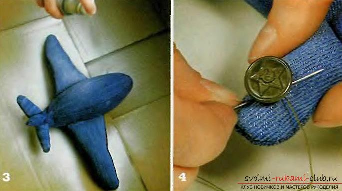 Как сделать самолет из джинсовой ткани своими руками.. Фото №5