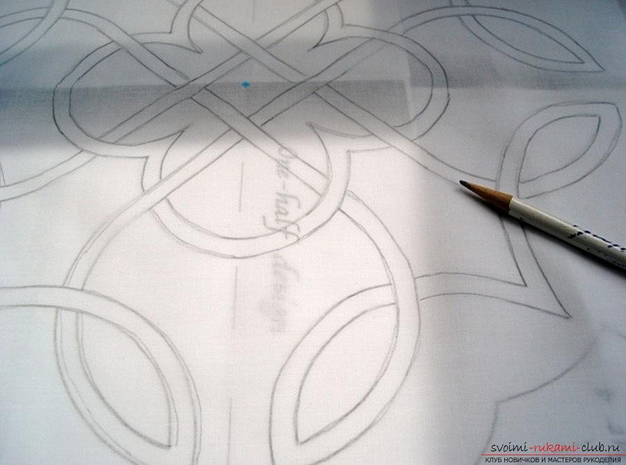 Кельтская подушка своими руками, кельтские узоры подушки - мастер-класс. Фото №1
