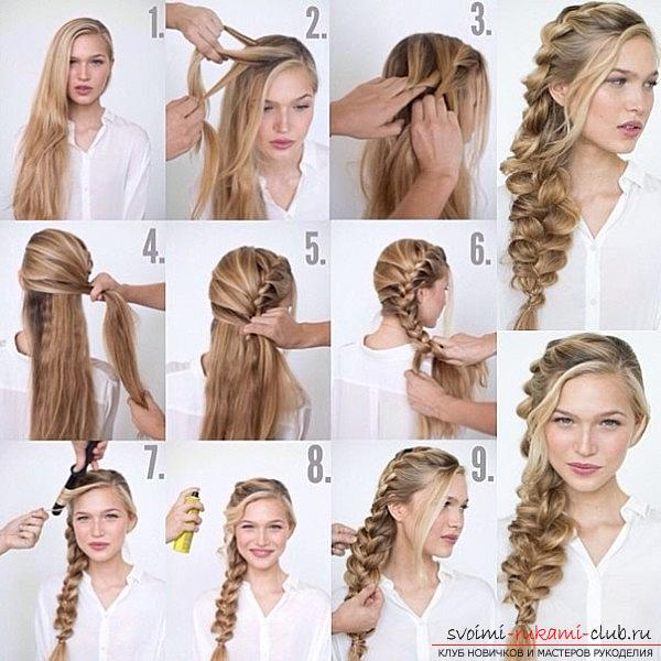 Сделать косу своими руками
