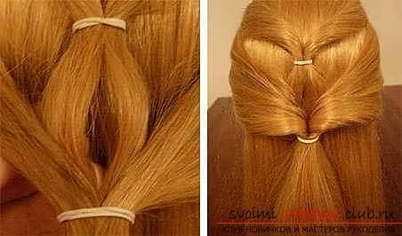 Мастер-класы по созданию модных причесок на средние по длине волосы своими руками за 5 минут. Фото №9