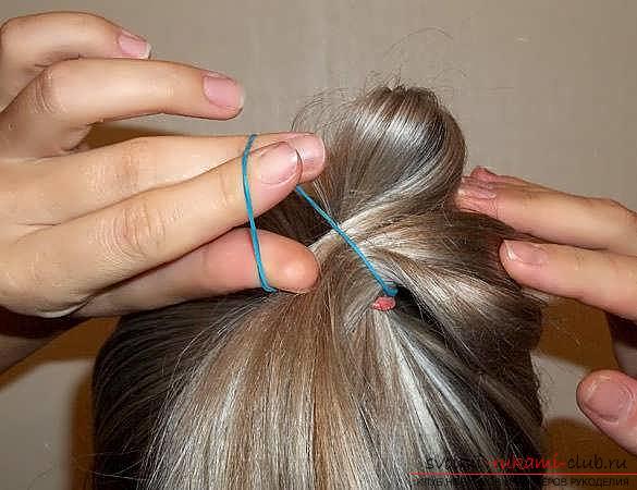 Мастер-класы по созданию модных причесок на средние по длине волосы своими руками за 5 минут. Фото №13