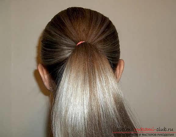 Мастер-класы по созданию модных причесок на средние по длине волосы своими руками за 5 минут. Фото №11