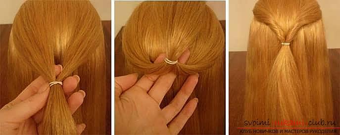 Мастер-класы по созданию модных причесок на средние по длине волосы своими руками за 5 минут. Фото №7
