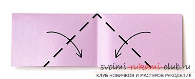 Как сделать лебедя оригами при помощи бумаги. своими руками и бесплатно.. Фото №4