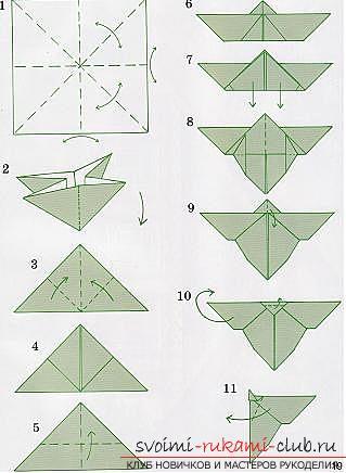 Оригами как сделать бабочку из бумаги