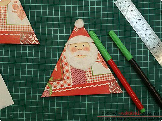 Новогодние поделки своими руками, Дед Мороз своими руками, как сделать Деда Мороза, поделки вместе с детьми, идеи и подробные уроки.. Фото №20
