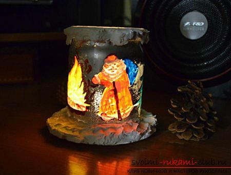 Новогодние поделки своими руками, Дед Мороз своими руками, как сделать Деда Мороза, поделки вместе с детьми, идеи и подробные уроки.. Фото №14