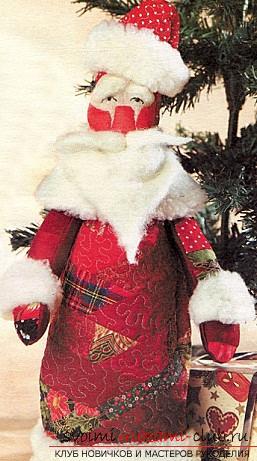 Новогодние поделки своими руками, Дед Мороз своими руками, как сделать Деда Мороза, поделки вместе с детьми, идеи и подробные уроки.. Фото №3