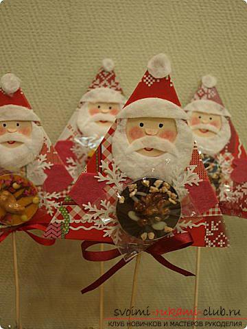 Новогодние поделки своими руками, Дед Мороз своими руками, как сделать Деда Мороза, поделки вместе с детьми, идеи и подробные уроки.. Фото №24